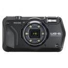 防水デジタルカメラ WG-6 (ブラック)