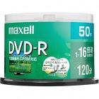 録画用 DVD-R 120分 16倍速対応 プリンタブル ホワイト 50枚入