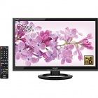 22V型 液晶 テレビ フルハイビジョン 外付HDD対応(裏番組録画)