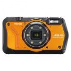 防水デジタルカメラ WG-6 (オレンジ)