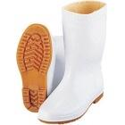 弘進 防寒ゾナ長靴(耐油性・ボア裏)白 25cm