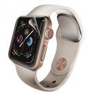 Apple Watch 44mm/フルカバーフィルム/衝撃吸収/防指紋/高光沢