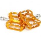 C241 CNCアルミペダル (ゴールド)