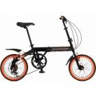 折りたたみ自転車 104 blackbullet II (ブラックバレットツー) 【大型商品につき代引不可・時間指定不可・返品不可】