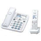 コードレス電話機(子機1台付き)(ホワイト)