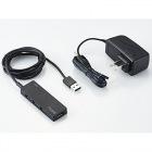 USBHUB2.0/AN4Sシリーズ/ACアダプタ付/セルフパワー/4ポート/ブラック
