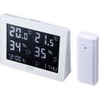 ワイヤレスデジタル温湿度計(受信機付き)