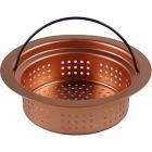 銅製 浅型バスケット 451-208(180mmトラップ用)