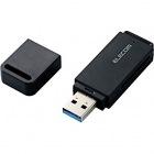 メモリリーダライタ/USB3.0対応/直挿し/SD系専用/ブラック