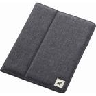 タブレット汎用ブックタイプケース/ファブリック/8.5〜10.5インチ/ブラック