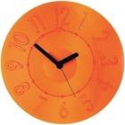 ウォールクロック 0499.0045 オレンジ