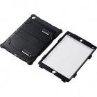 9.7インチiPad Pro/ゼロショックケース/フルプロテクト/ブラック