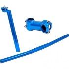 FFR-3item-set カスタム3点セット(ハンドルバー・ステム・シートポスト) (ブルー)