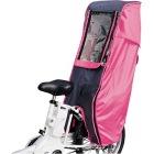 D-5RD 幼児座席用 後用レインカバー ピンク