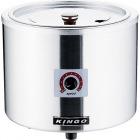 KINGO 湯煎式電気スープジャー D9001(中鍋なし)