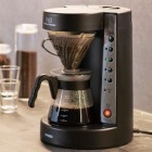 珈琲王 コーヒーメーカー V60 透明ブラック EVCM-5TB