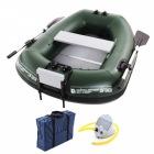 エレキ対応の高性能 バスフローターボート DFB101 グリーン