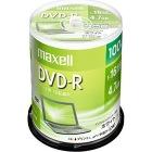 データ用 DVD-R 4.7GB 16倍速対応 プリンタブル ホワイト  100枚入