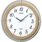 衛星電波時計 SPACE LINK(スペースリンク)掛時計(薄茶) GP206B