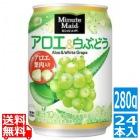 ミニッツメイドアロエ&白ぶどう 280g缶 (24本入)