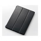 9.7インチiPad Pro/フラップカバー/2段階調節/ブラック