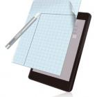 タブレット用 フリーカット液晶保護フィルム(8インチ・反射防止)