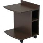 マルチサイドテーブル ロー 幅45×奥行39.5×高さ54cm ブラウン