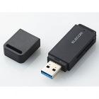 メモリリーダライタ/USB3.0対応/直挿し/ソフト付き/SD系専用/ブラック