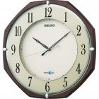衛星電波時計 SPACE LINK(スペースリンク)掛時計(茶) GP207B