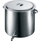 EBM 18-8 蛇口付 スープ寸胴鍋 48cm