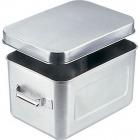 18-8保温・保冷バット マイルドボックス サラダ用 7l(蓋付)004 業務用