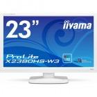 23型ワイド液晶ディスプレイ ProLite X2380HS-W3 (IPS、LED) ピュアホワイト