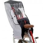 RCR-001 自転車幼児座席専用風防レインカバー(うしろ用) (ブラック/グレー)