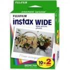 ワイド用カラーフィルム instax WIDE 2パック品(10枚入×2)