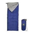 1人用快適寝袋 3シーズン(春・夏・秋)用 快適温度: 10-25℃