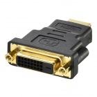 HDMIオス:DVIメス変換アダプター