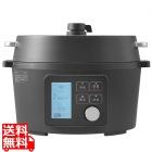 アイリスオーヤマ 電気圧力鍋 ブラック KPC-MA4