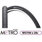 M-119 METRO WO 700 28C (ブラック) 1本