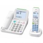 デジタルコードレス電話機 子機1台 ホワイト JDーAT85CL