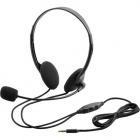 4極ヘッドセットマイクロフォン/両耳オーバーヘッド/1.8m