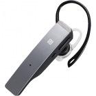 Bluetooth4.1対応 2マイクヘッドセット メタルアンテナ搭載&NFC対応モデル シルバー