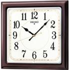 木枠電波時計。光沢仕上げ。