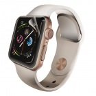 Apple Watch 40mm/フルカバーフィルム/衝撃吸収/防指紋/高光沢