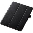 9.7インチiPad Pro/フラップカバー/360度/ブラック
