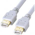 IEEE1394ケーブル (6pin-6pin・3m・ライトグレー)