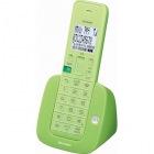 デジタルコードレス電話機 子機1台 リーフグリーン