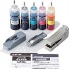 詰替えインク/キヤノン/BCI-350351対応/5色キット(5回分)/リセッター付属