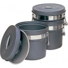 段付二重食缶(内外超硬質ハードコート) 246-H (8l) 業務用