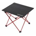 テーブル トレッカー ジュラルミンロールテーブル ブラック