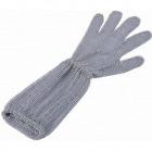 ロングカフ付 メッシュ手袋5本指 M LC-M5-MBO(2)